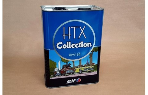 Motor Oil Elf HTX Collection 20W50, 2 litres