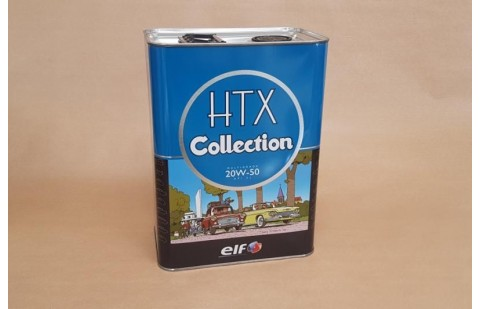 Huile Elf HTX Collection 20W50, 5 litres