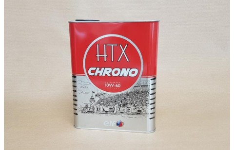 Huile Elf HTX Chrono 10W60, 2 litres