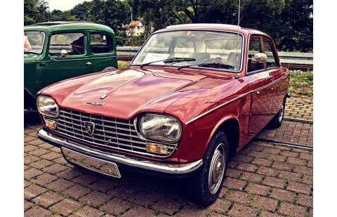 Coussinets de paliers Peugeot 204 (après 1968), cote STD