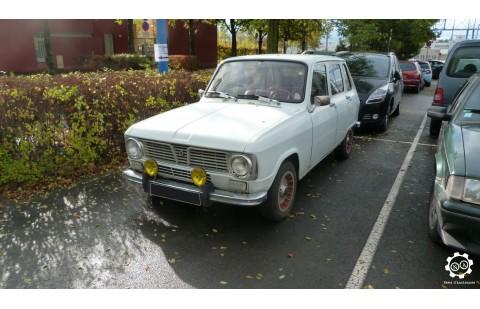 Cales latérales Renault 6