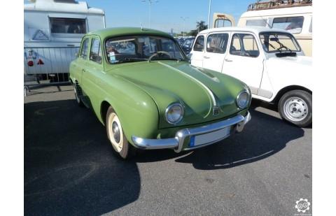 Cales latérales Renault Dauphine après 1957