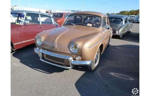 Cales latérales Renault Dauphine avant 1957