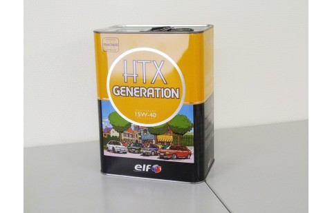 Huile Elf HTX Generation 15W40 5 litres