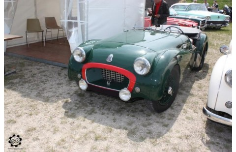 Coussinets de bielle Triumph TR2 CR
