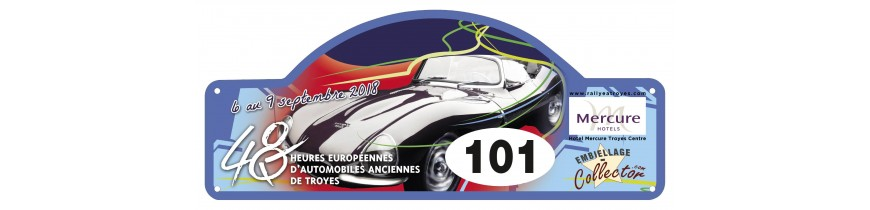 Embiellage Collector partenaire des 48h Automobiles de Troyes