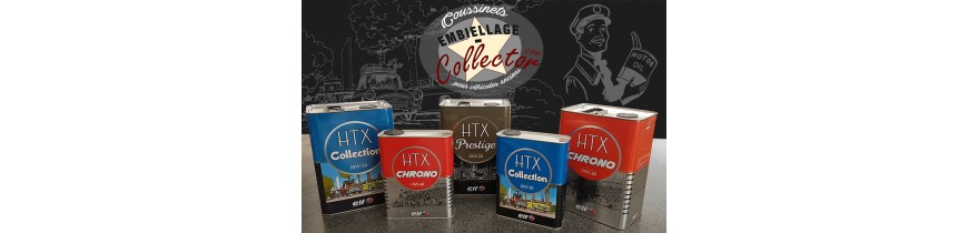 Les Huiles HTX sont arrivées sur la Boutique en Ligne Embiellage Collector