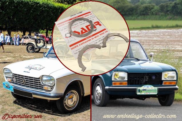 Nouveauté au catalogue : des Cales Latérales pour les Peugeot 204 et 304