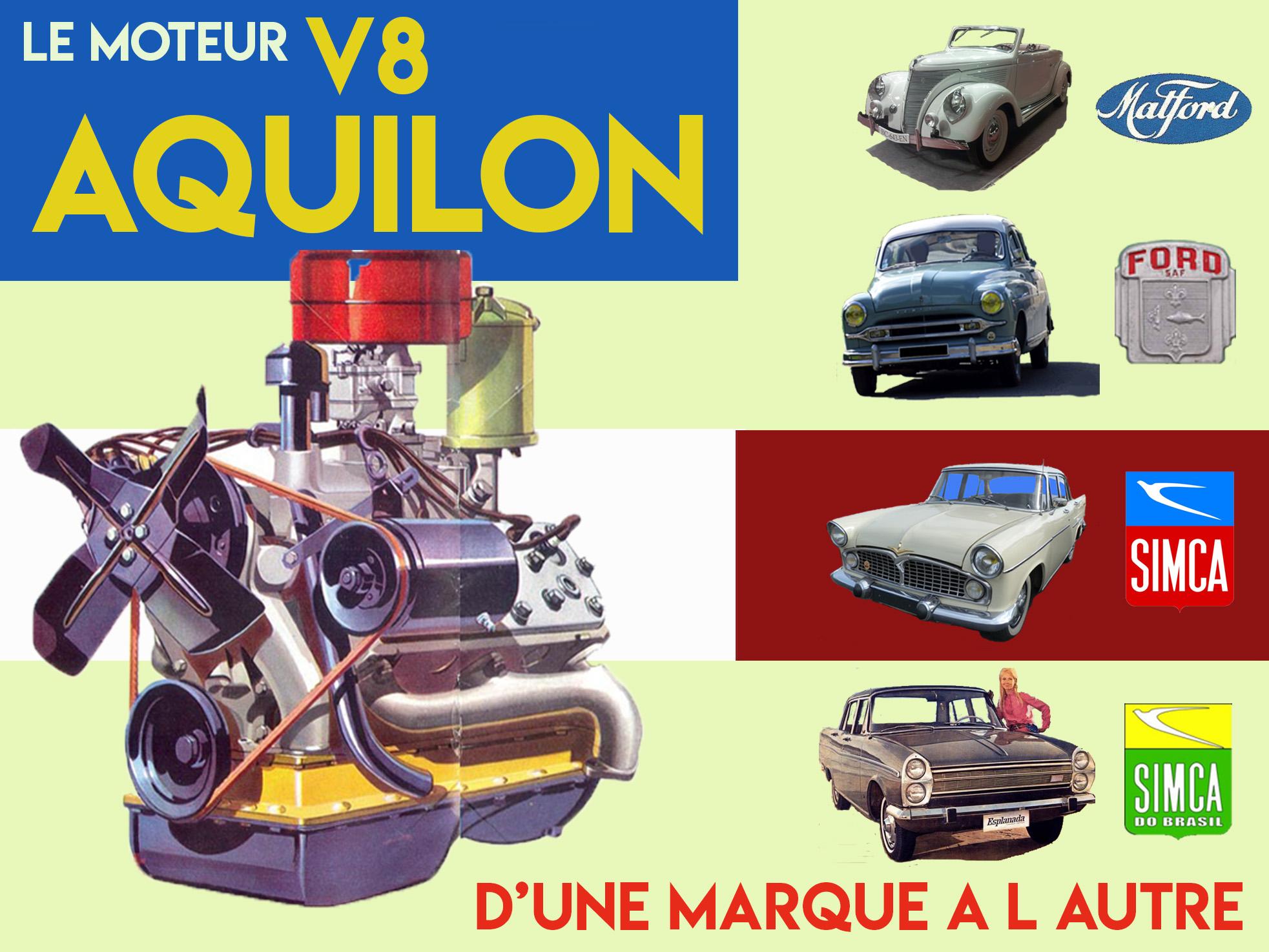 LE MOTEUR AQUILON  V8