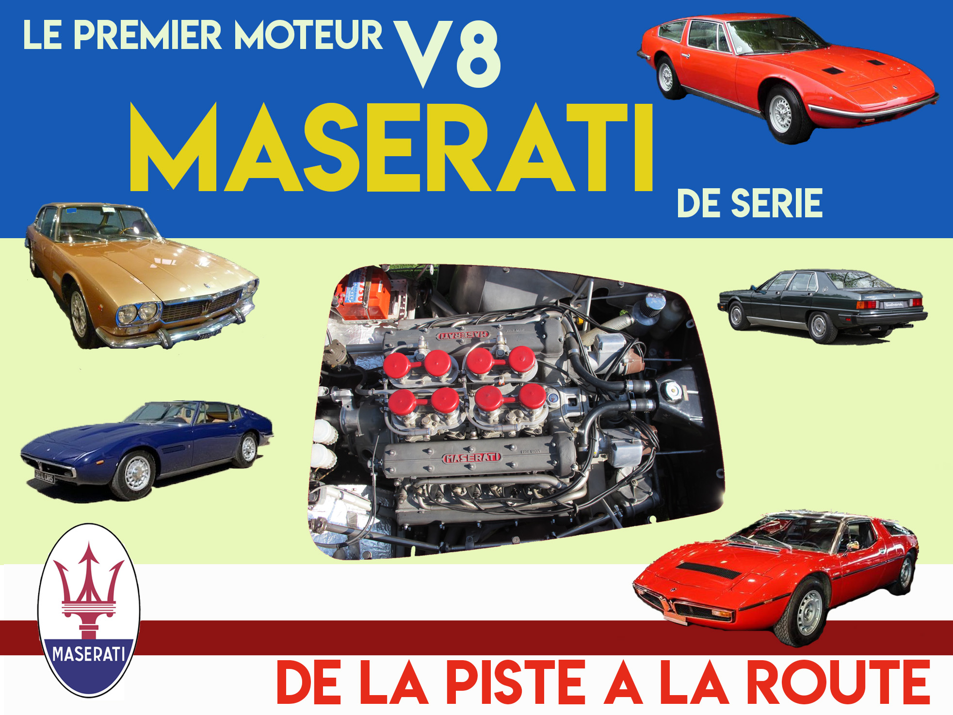 Le moteur V8 Maserati  2